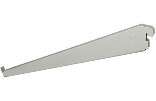 Organized Living freedomRail Angled Bracket for Wood Shelves - Nickel