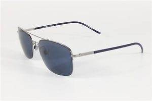 dd455979bf4 Image Unavailable. Image not available for. Colour  GIORGIO ARMANI  Sunglasses AR 6001 301280 Gunmetal Blue 57MM