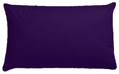 Luxury Pair Plum Aubergine Pillowcase Polycotton Housewife Bedroom Pillow Case Cover by Maria Luxury Bedding & Linen - Plum Humlin
