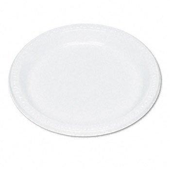 (TABLEMATE Plastic Dinnerware, Plates, 9