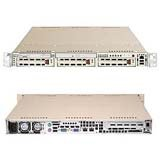Supermicro A+ Server AS-1020A-8 - Server - rack-mountable - 1U - 2-way - RAM 0 MB - SCSI - hot-swap 3.5