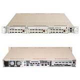Supermicro A+ Server AS-1020A-8 - Server - rack-mountable - 1U - 2-way - RAM 0 MB - SCSI - hot-swap 3.5