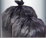 Transparent Trash Can Liners, 12-16 Gallon Size by Pitt Plastics ()