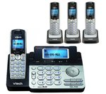 Vtech-DS6151-Base-with-3-Additional-DS6101-Cordless-Handsets-Bundle