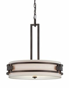 Designer Drum Pendant Light
