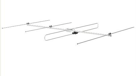 Four Element Directional Outdoor Fm Antenna New Condition ()