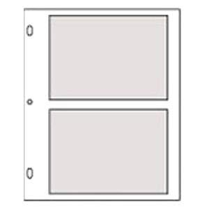 Genuine Post Impression / Graphic ImageTM slip-in 5x7 pocket refills for Standard 3-ring albums - 5x7