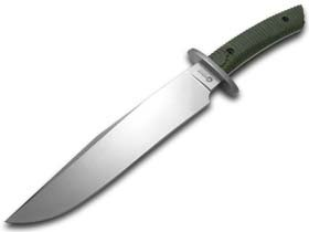 Boker 02BA595M Arbolito El Gigante Micarta Knife with 8 3/8 in. Blade, Green
