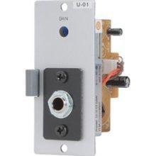 (TOA U-01P Unbalanced Line Input Module w/Phone Jack)