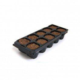 Placa de 10 macetas X-Plug para esquejes y sembrado Platinium Soil