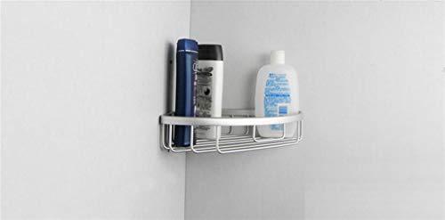 Storage Rack Space Aluminum Single Layer Basket Basket Triangle Basket Corner Bathroom Bathroom Rack Corner Frame Tripod Wholesale (Size : Lvsi) by Sevenpring (Image #2)