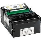 Zebra Technologies P1009545-3 Series KR403 Kiosk Receipt Printer, Ethernet and USB Connection, Black