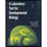 A Laboratory Text for Developmental Biology, Grey, Robert and Armstrong, Peter B., 0840398859