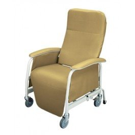 Lumex Preferred Care Extra-Wide Recliner - FREE SHIPPING - Rosewood - 565WG863 -