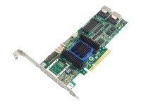 2 Lp Controller Storage - Adaptec 6805 Kit Raid 0/1/10 Sata 512MB Pcie 3.3/12V MD2/LP SFF-8087/2 Int