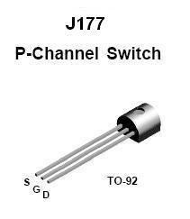 J177 FET Transistor - 10 pieces