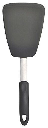 UNICOOK Flexible Silicone Spatula, Turner, 600F Heat Resistant, Ideal for Flipping Eggs, Crepes,Brownies and More, BPA Free, FDA Approved and LFGB Certified, Large Size (Large Silicone Spatula)