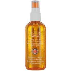 Clarins Sun Care Spray Oil-free Lotion Progressive Tanning SPF 15 For Outdoor Sports 5.08 oz