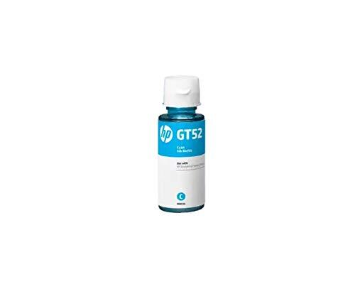 REFILLHUB GT52 CYAN 70ML INK BOTTLE FOR  HP GT52 CYAN