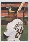 (Rickey Henderson (Baseball Card) 1990 Mother's Cookies Oakland Athletics - Stadium Giveaway [Base] #4)