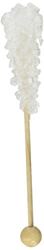 White Rock Candy Demitasse Sticks - 100 Count 21oz