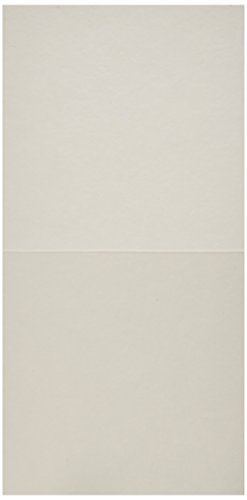 QUICKUTZ We R Memory Keepers Letterpress Paper, Square-Size, Fold-Style, 15-Pack, White