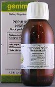Populus nigra 125 ml gemmothérapie UNDA Brand: UNDA