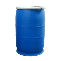 Air Sea Containers 30 Gallon Open-Head UN Rated Poly Drum with Ring Lock Lid