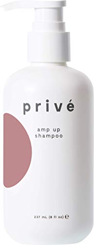 Privé Amp Up Shampoo (8 Fluid Ounces / 237 Milliliters) - Infuse Hair With Weightless Volume,...