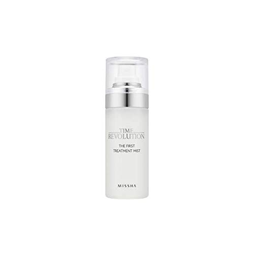 Time Revolution The First Treatment Essence Mist (55 ml) - Mist Type Essence for Dry and Rough Skin, Hydrating Essence Mist Perfect for On-The-Go