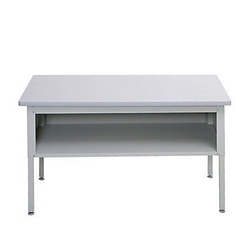 Adjustable Height Mailroom Sorting Table (Cherry Top/Black Top and Base) by OFF!
