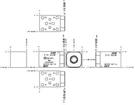 GBA - Aluminum Manifold, T-13A (ISO 03)