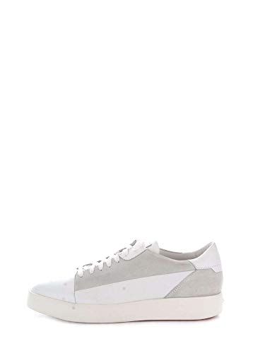 Pelle Santoni Uomo Sneakers Bianco Mbwi20804biablyui50 vAqTw4xA