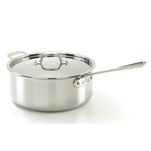 All-Clad 5206 Stainless Steel Deep Saute Pan with Lid Cookwa