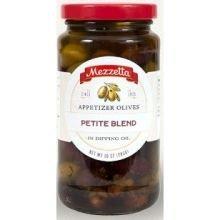 Mezzetta Petite Blend Appetizer Olives, 10 Ounce - 6 per case.