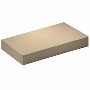 Kraft Apparel Boxes 11 1/2 x 5 1/2 x 1 1/2 Case of 100 by Retail Resource