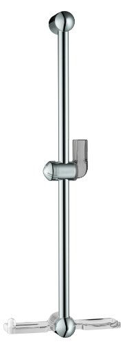 (Hansgrohe 06890000 Unica E Wallbar with Soap Dish, 24-Inch, Chrome)
