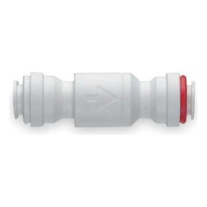 Check Valve, 3/8 In Tube OD, White from John Guest