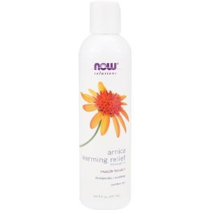 Arnica Solutions Warming Massage Oil Relief - 8 oz - Liquid