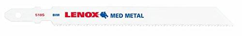 Lenox Tools 20854F518S T-Shank Bi-Metal Medium Metal Cutting Jig Saw Blade, 5-1/4-Inch x 3/8-Inch x...