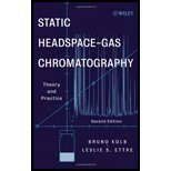 img - for Static Headspace-Gas Chromatography by Kolb, Bruno, Ettre, Leslie S.. (Wiley-Interscience,2006) [Hardcover] 2ND EDITION book / textbook / text book