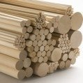 Science Purchase Birch Wood Dowels 1/8'' x 36'' 10 PACK