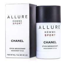 C h a n e l Allure Homme Sport Deodorant Stick For Men 2oz 75ml New in -