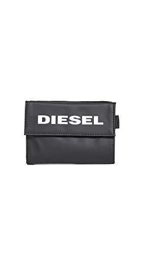 Diesel Men's Yoshi Wallet with Keyring, black, UNI ()