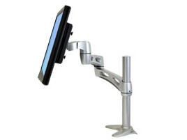ERGOTRON NF EXTEND LCD ARM Includes Two Extensions LCD Energy Pivot Desk Clamp Base