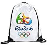 EDRE Men's&Women's Simone Biles Gymnastics Lovely Simone Biles Gymnastics Drawstring Shoulder Bag