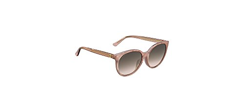Gucci Asian Fit Crystal Rose Sunglasses