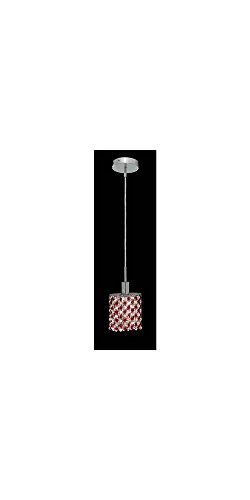 Ss 1 Light Chrome Crystal Pendant in US - 8