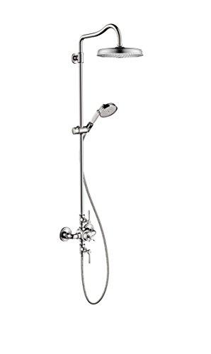 AXOR 16572001  Montreux Shower Tower, Brushed Nickel