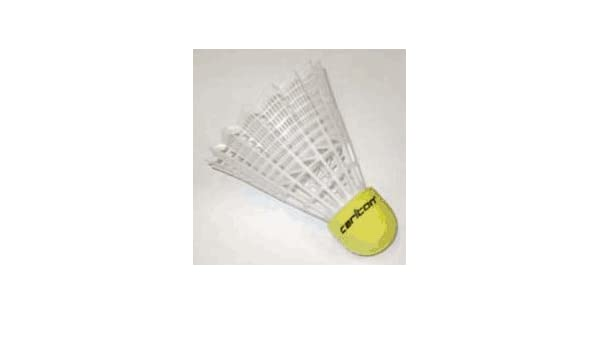 Amazon.com : Club Nylon Indoor Shuttlecocks From Carlton - 3 Tubes Of 6 (18 Total) : Badminton Shuttlecocks : Sports & Outdoors
